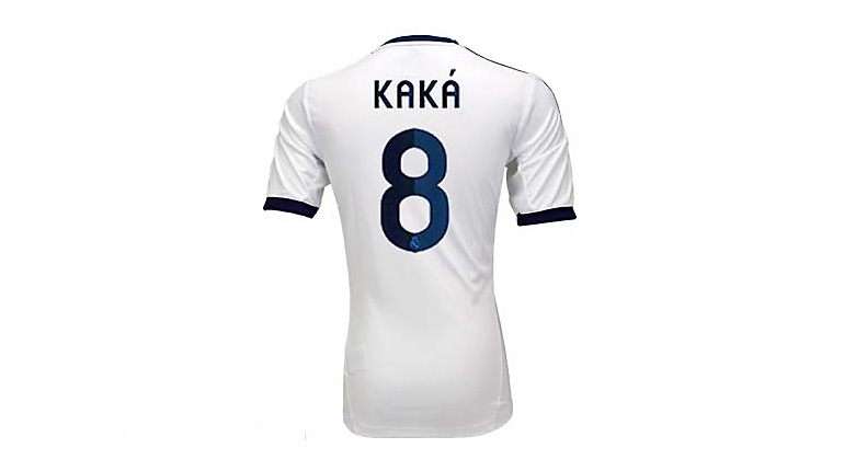 adidas Youth Real Madrid Kaka Home Jersey 2012-2013