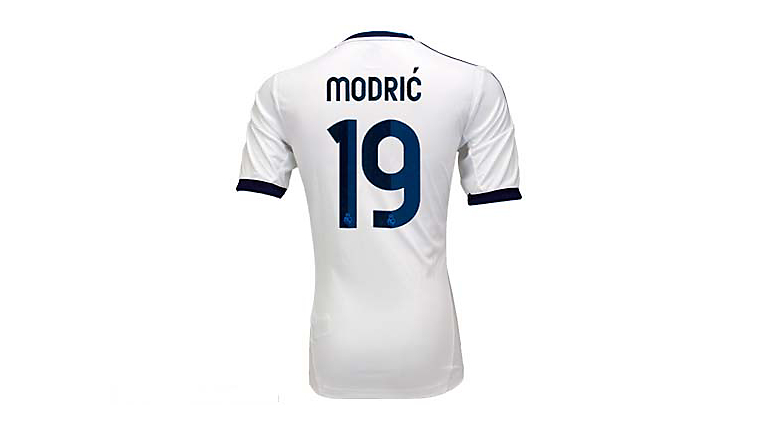 adidas Youth Real Madrid Modric Home Jersey 2012-2013