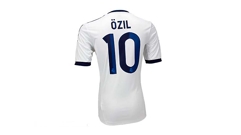 adidas Youth Real Madrid Mesut Ozil Home Jersey 2012-2013