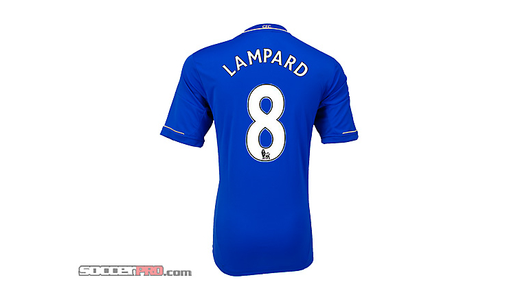 adidas Youth Chelsea Lampard Home Jersey 2012-2013