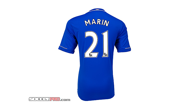 adidas Youth Chelsea Marin Home Jersey 2012-2013