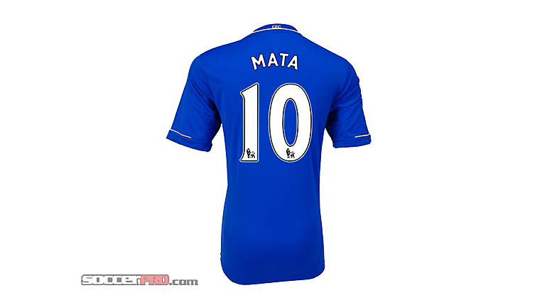 adidas Youth Chelsea Mata Home Jersey 2012-2013