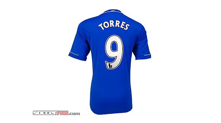 adidas Youth Chelsea Torres Home Jersey 2012-2013