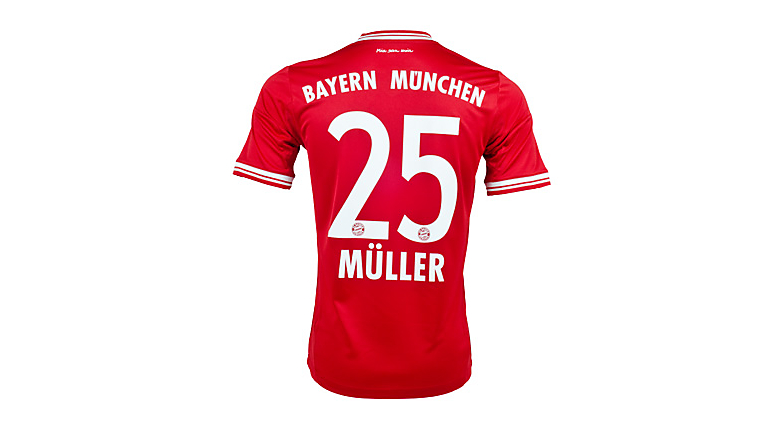 adidas Youth Bayern Munich Muller Home Jersey 2013-2014