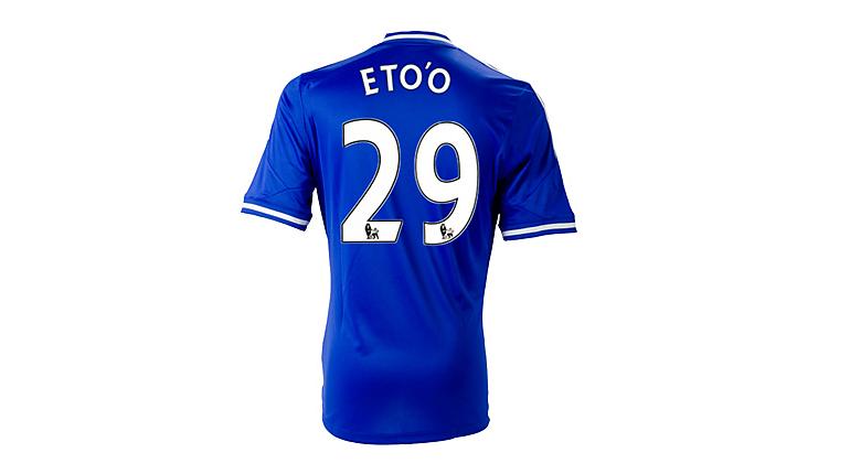 adidas Chelsea Eto'o Home Jersey 2013-2014