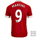 adidas Kids Anthony Martial Manchester United Home Jersey 2015-16