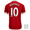 adidas Kids Wayne Rooney Manchester United Home Jersey 2015-16