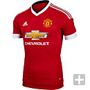 adidas Manchester United Authentic Home Jersey 2015-2016