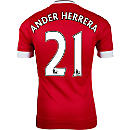 adidas Ander Herrera Manchester United Authentic Home Jersey 2015