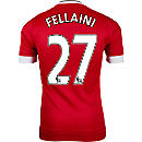 adidas Marouane Fellaini Manchester United Authentic Home Jersey
