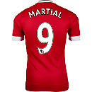 adidas Anthony Martial Manchester United Authentic Home Jersey 2015-16