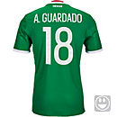 adidas Kids Andres Guardado Mexico Home Jersey 2016-17