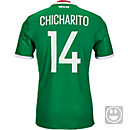 adidas Kids Chicharito Mexico Home Jersey 2016