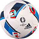 adidas Euro 16 Top Replique Soccer Ball - White & Bright Blue