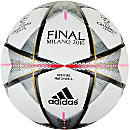 adidas Finale Milano Official Match Ball - White & Silver Metallic