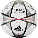adidas Finale Milano Official Match Ball - White & Silver Metallic
