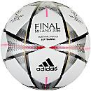 adidas Finale Milano Top Training Soccer Ball - White & Silver Metallic