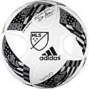 adidas MLS 2016 Top Training Soccer Ball (NFHS) - White & Shock Blue