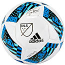 adidas MLS 2016 Glider Soccer Ball - White & Shock Blue