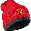 adidas Manchester United Beanie - Scarlet & White