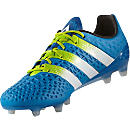 adidas ACE 16.1 FG Soccer Cleats - Shock Blue & Solar Yellow