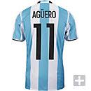 adidas Sergio Aguero Argentina Home Jersey 2016-17