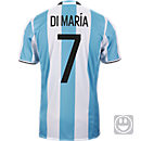 adidas Kids Angel Di Maria Argentina Home Jersey 2016-17