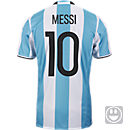adidas Kids Lionel Messi Argentina Home Jersey 2016