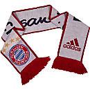 adidas Bayern Munich Scarf - White & Night Navy