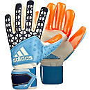 adidas ACE Zones Pro Goalkeeper Gloves - Manuel Neuer - Solar Red & Dark Blue