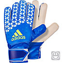 adidas ACE Junior Goalkeeper Gloves - Shock Blue & Semi Solar
