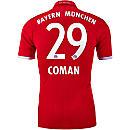 adidas Kingsley Coman Bayern Munich Authentic Home Jersey 2016-17