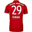 adidas Kingsley Coman Bayern Munich Home Jersey 2016-17
