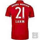 adidas Kids Philip Lahm Bayern Munich Home Jersey 2016-17
