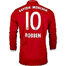 adidas Arjen Robben Bayern Munich L/S Home Jersey 2016-17