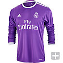 adidas Real Madrid L/S Away Jersey 2016-17