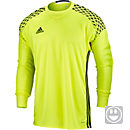 adidas Kids Onore 16 Goalkeeper Jersey - Solar Yellow & Black