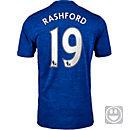 adidas Kids Marcus Rashford Manchester United Away Jersey 2016-17