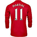 adidas Anthony Martial Manchester United L/S Home Jersey 2016-17