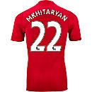 adidas Henrikh Mkhitaryan Manchester United Authentic Home Jersey 2016-17