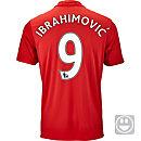 adidas Kids Zlatan Ibrahimovic Manchester United Home Jersey 2016-17