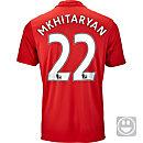 adidas Kids Henrikh Mkhitaryan Manchester United Home Jersey 2016-17