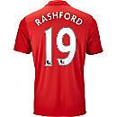 adidas Marcus Rashford Manchester United Home Jersey 2016-17