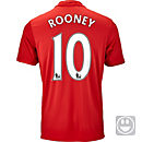 adidas Kids Wayne Rooney Manchester United Home Jersey 2016-17