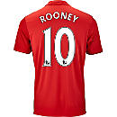 adidas Wayne Rooney Manchester United Home Jersey 2016-17
