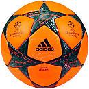 adidas Finale 16 Official Winter Match Ball - Solar Orange & Silver Metallic