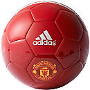 adidas Manchester United Supporter Ball - Power Red