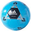 adidas Starlancer V Soccer Ball - Solar Blue & Black