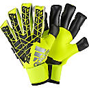 adidas ACE Trans Fingersave Pro Goalkeeper Gloves - Solar Yellow & Black