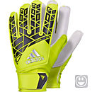adidas Kids ACE Goalkeeper Gloves - Solar Yellow & Black